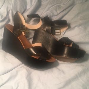 Black Platform Michael Kors Sandals
